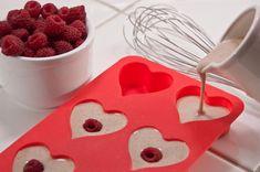 Valentine pancakes raspberri, ice cubes, valentine day, famili, valentine food ideas, valentines food, valentine ideas, health foods, valentine party