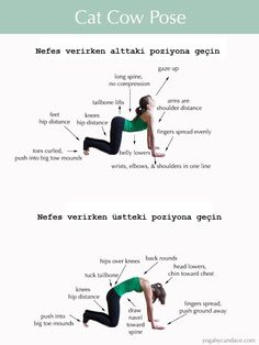 Starting with the basics, this yoga workout stretched the torso and neck region, softly stimulating the abdominal organs, facilitating blood flow. This beginner yoga workout also ensures better breathing habits, calming the nerves. Yoga Poses For Back, Yoga For Back Pain, Cool Yoga Poses, Yoga For Scoliosis, Scoliosis Exercises, Yoga Exercises, Pilates Workout, Workouts, Yoga Gato
