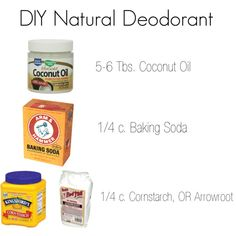 DIY Natural deodorant by larueblog, via Polyvore. I replace the baking soda with kaolin clay 8 drops of Oil of oregano 8 drops of lavendar and 8 drops of Atlas Cedar wood because the PH in baking soda began to burn my underarms and the aluminum is undesirable.
