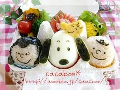 Snoopy bento I have a friend who would love this. She is Japanese born in Hawaii. She likes  Snoopy a lot.