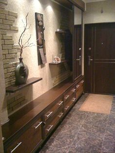 67 Ideas For House Entrance Ideas Entryway Hallways Foyers Home Entrance Decor, House Entrance, Entrance Ideas, Narrow Hallway Decorating, Wall Design, House Design, Contemporary Baths, Hallway Storage, Living Room Decor Cozy