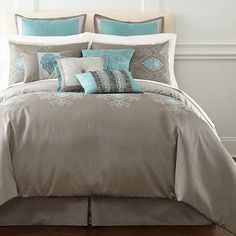 jcpenney comforter sets | Shalimar 10-pc. Comforter Set & Accessories - jcpenney