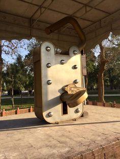 World's Largest Functioning lock Gujranwala Cantt Punjab Pakistan Pakistan Zindabad, Pakistan Travel, Pakistan Fashion, Weird Facts, Crazy Facts, Photography Names, Wedding Ceremony Decorations, Cool Photos, Amazing Photos
