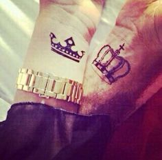 56 Best King And Queen Tattoos For Men Images Couple Tattoos King