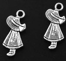Hot Wholesale 10pcs Tibet Silver Charms Pendant DIY Jewerly 25x10.5mm T0700 0.88