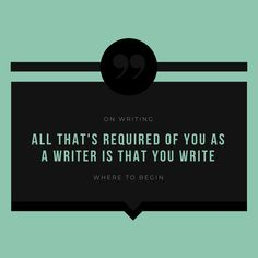 Start writing a book, a blog, a journal by setting aside the time and doing it.