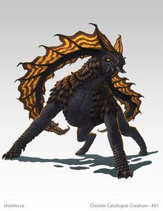 Jehmorcha - creature concept by Cloister.deviantart.com on @DeviantArt