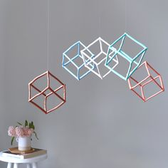 Cube Hanging Mobile | Twiggargerie