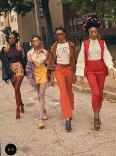"""New Totally Free Fashion Teenage Videos Style A brand new world magazine From the scene for the world"""", may be the Motto of the brand new metr 70s Outfits, Vintage Outfits, Black Girl Fashion, 70s Fashion, Trendy Fashion, Vintage Fashion, Fashion Trends, Fashion Hats, Fashion Images"""
