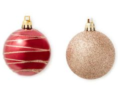 I found a Rustic Red & Gold Shatterproof Ornaments, 24-Pack at Big Lots for less. Find more Ornaments & Tree Decorations at biglots.com!