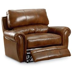 chair and a half recliner leather foter heavy duty pinterest