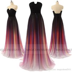 Cheap Vestidos Elie Saab Gradient Ombre Chiffon Evening Dresses In Stock Long Formal Prom Gowns 2015 Special Occasion Dress A Line Sweetheart As Low As $70.77, Also Buy Online Dress Shop Online Women Clothing From Magicdress2011| Dhgate Mobile