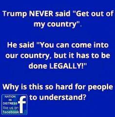 Listen instead of perverting everything Vote TRUMP 2016!!
