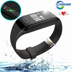 Towabo Fitness Tracker Wristband with Heart Rate monitor Activity Watch Step Walking Sleep Counter Pedometer Exercise for Android and iOS – Health and Nutriton Online Toy Stores, Best Fitness Tracker, Handmade Leather Wallet, Wearable Technology, Fitness Watch, Heart Rate Monitor, 6s Plus, Smart Watch, Fitbit