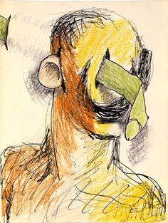 Lee Lozano, No title, 1962.