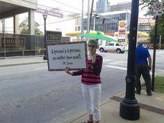 protest outside Planned Parenthood clinic in Atlanta , prolife rally #prolife #abortion #plannedparenthood #politics #Christianity  #jesus #news #atlanta