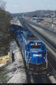 RailPictures.Net Photo: CR 6664 Conrail EMD SD45-2 at Cresson, Pennsylvania by Marty Bernard