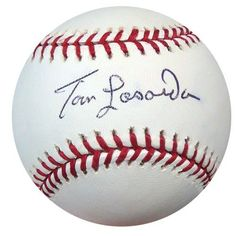 Tom Lasorda Autographed Signed MLB Baseball PSA/DNA #S64799 . $59.00. This is an Official Major League baseball that has been hand signed by Tom Lasorda. This autograph is certified authentic by PSA/DNA and comes with their sticker and matching certificate of authenticity.