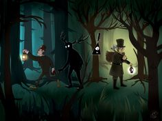 Over the Garden Wall awesome crossover! <3
