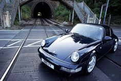 black UK 964 with white indicators and Cup wheels and mirrors