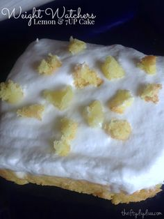 Weight Watchers Lemon and 7UP Cake Recipe - so MOIST and delicious you won't believe you're cutting calories!