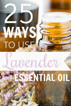 25 Uses for Lavender Essential Oil - The Purposeful Mom