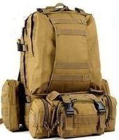 táctica mochila de lona del hombro BOLSAS senderismo al aire libre hombres venta supernova deporte equipo de campamento militar de viaje a prueba de agua 11