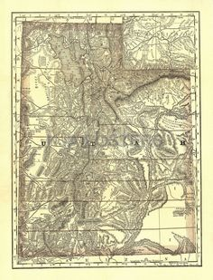 46 Best Utah Maps images