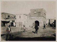 Ρόδος Παλιά Πόλη. Πλατεια του Μεγάλου Σιντριβανιού (Σωκράτους) 1927 ..