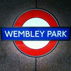 WEMBLEY PARK TUBE STATION | WEMBLEY PARK | BRENT | LONDON | ENGLAND: *London Underground: Metropolitan Line; Jubilee Line*