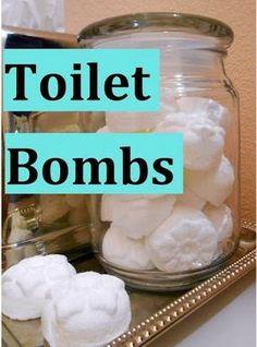 Easy Homesteading: DIY Toilet Bombs - Deodorize  Kill Bacteria