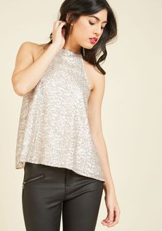 A Shiny Example Tank Top, @ModCloth