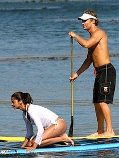 Fitness Icon. Camila Alves. Water Workout.