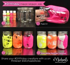 Easy diy mason jar holders for just about anything crayons cool paint mason jar idea solutioingenieria Image collections