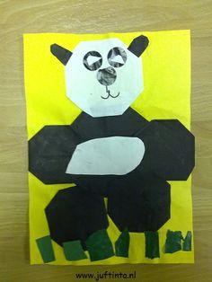 panda knutselen
