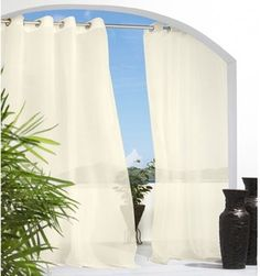 Escape Voile Outdoor Curtain - curtains - chicago - by Home Infatuation