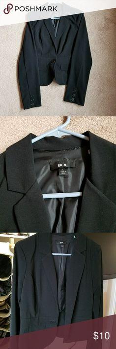 Black blazer Black blazer size large. Worn a few times, good condition BCX Jackets & Coats Blazers