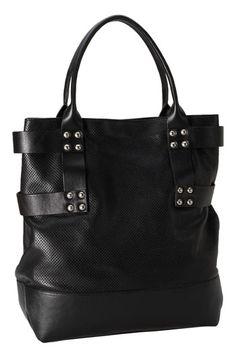64587bbe848 Hinge® Perforated Leather Tote Women s Swimwear, Shoe Bag, Best Handbags, Tote  Handbags