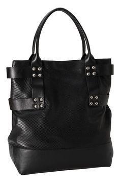 Hinge® Perforated Leather Tote