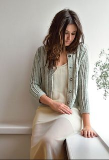 Cloudy by Kim Hargreaves in a bulky cotton, rayon and linen blend Cardigan Design, Knit Cardigan, Crochet Books, Knit Crochet, What Is Fashion, Sweater Knitting Patterns, Knitting Ideas, Knitting Projects, Fingerless Gloves Knitted
