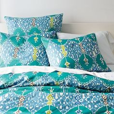 Island Ikat Duvet + Shams - modern - bedding - West Elm