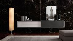 Air hanging cabinet from our line Skyline will make you feel like you're in the metropolis. #distinctivehome #conceptbycaroti #design #art #modern
