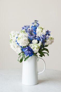 DIY Grocery Store Flower Arrangement