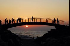 Evening in Tel Aviv...