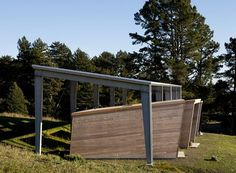 MIDDLEBROOK WRITERS CABINS, Woodside, 2012 - CCS Architecture