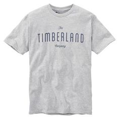 Timberland - T-shirt SS Kennebec River TBL Tee Homme - Coupe Droite - medium grey