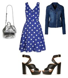 """Untitled #373"" by aayushis on Polyvore featuring Yumi, Chloé and Poverty Flats"