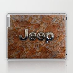 Rustic Jeep LAPTOP & IPAD SKIN #laptop #skins #iPadminicase #accessories #rustic #jeep #steampunk #logo #typograph #wrangler #landrover #car #abstract #volkswagen #vehicle #autocar #suv #offroad #rangerover #4x4