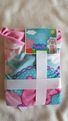 Pajama Set Peppa Pig 3T New in Package Sleepwear Set Pink Toddler Clothing #KomarKids #TwoPiece