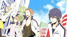 Kohinata Hozumi & Sakurai Nana & Hasekura Heath & Fujiwara Takeru   Prince of Stride Alternative #anime
